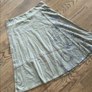 Life is Good A line Maxi skirt